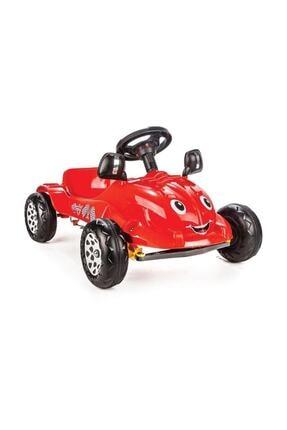 PİLSAN Herby Pedallı Araba - Kırmızı