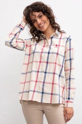U.S. Polo Assn. Kadın Ekru Gömlek
