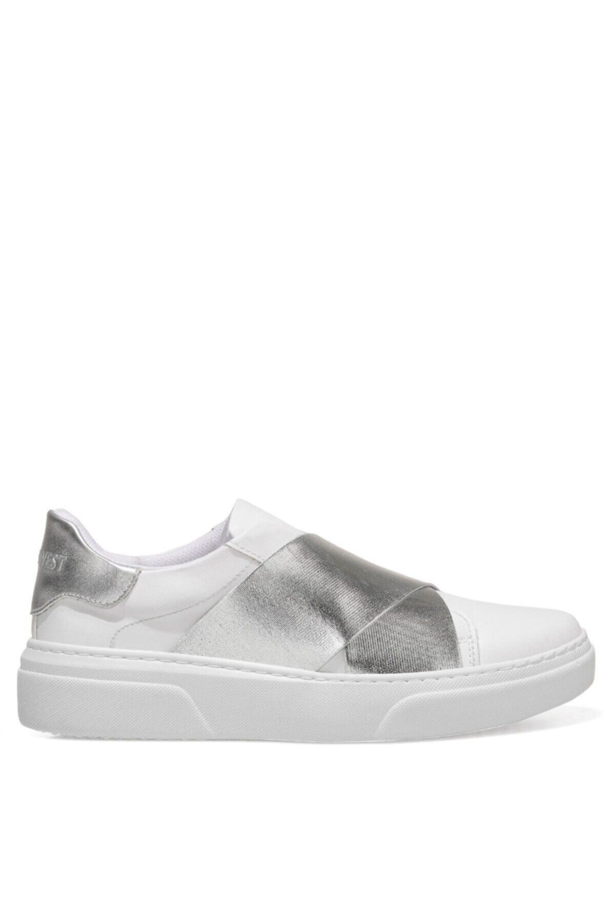 Nine West Gopcha 1fx Beyaz Kadın Havuz Taban Sneaker 1