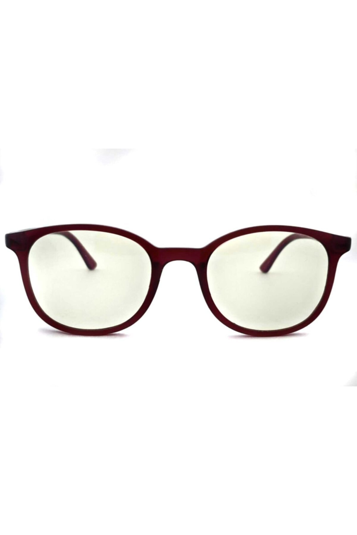 PETİTO Unisex Bordo Baham Mavi Işık Korumalı Ekran Gözlüğü 2