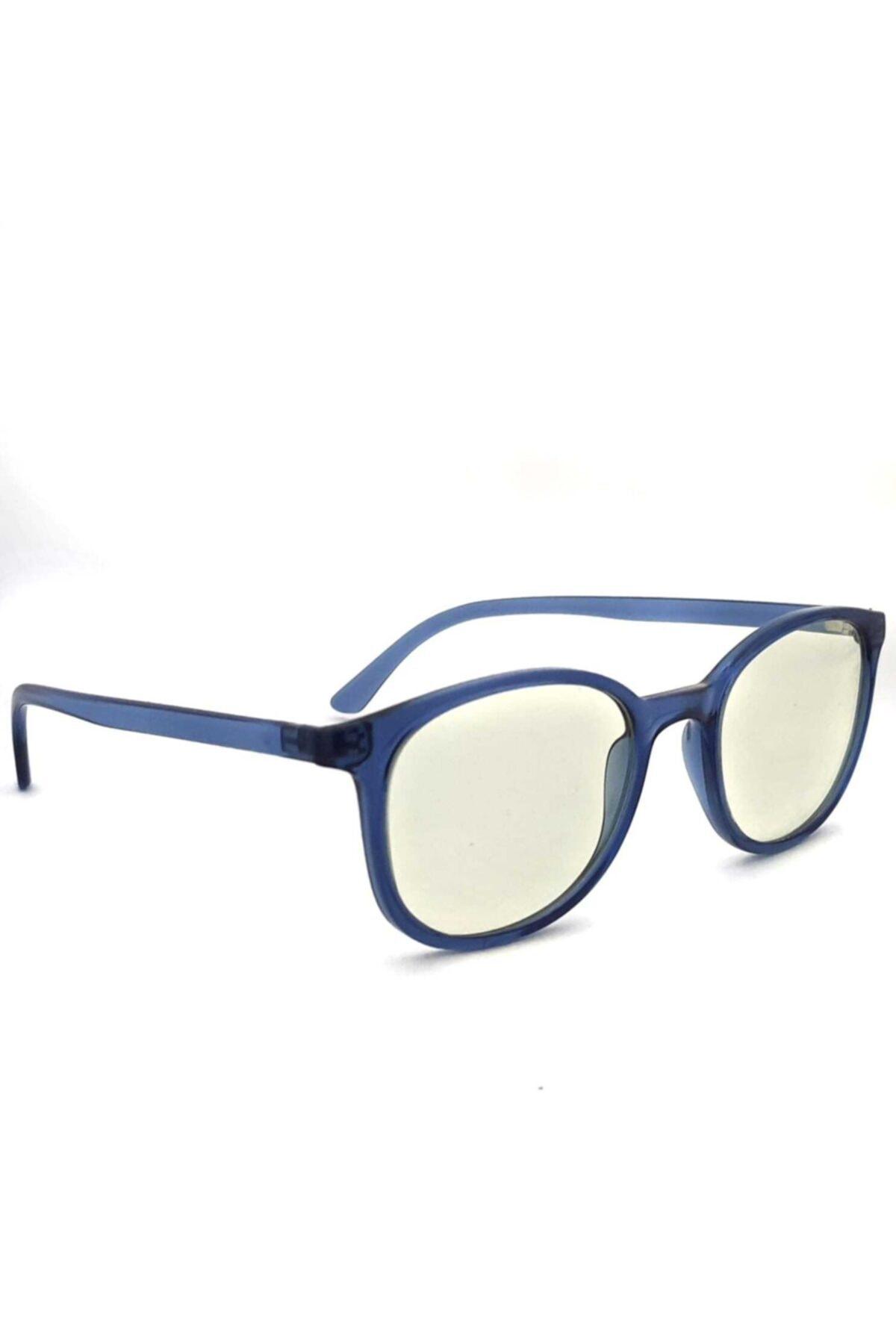 PETİTO Baham Indigo Unısex Mavi Işık Korumalı Ekran Gözlüğü 1