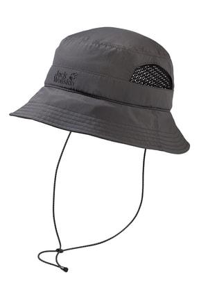 Jack Wolfskin Supplex Vent Outdoor Şapka Dark Steel