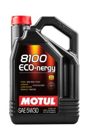 Motul 8100 Eco Nergy 5w30 5 Litre Motor Yağı Ürtm 08/2020