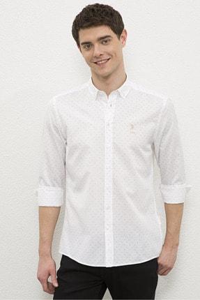 U.S. Polo Assn. Erkek Beyaz  Gömlek G081Sz004.000.1180091