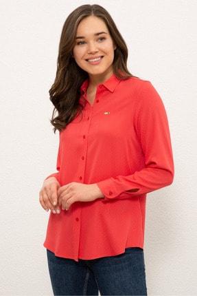 U.S. Polo Assn. Kırmızı Kadın Gömlek G082SZ004.000.1269458