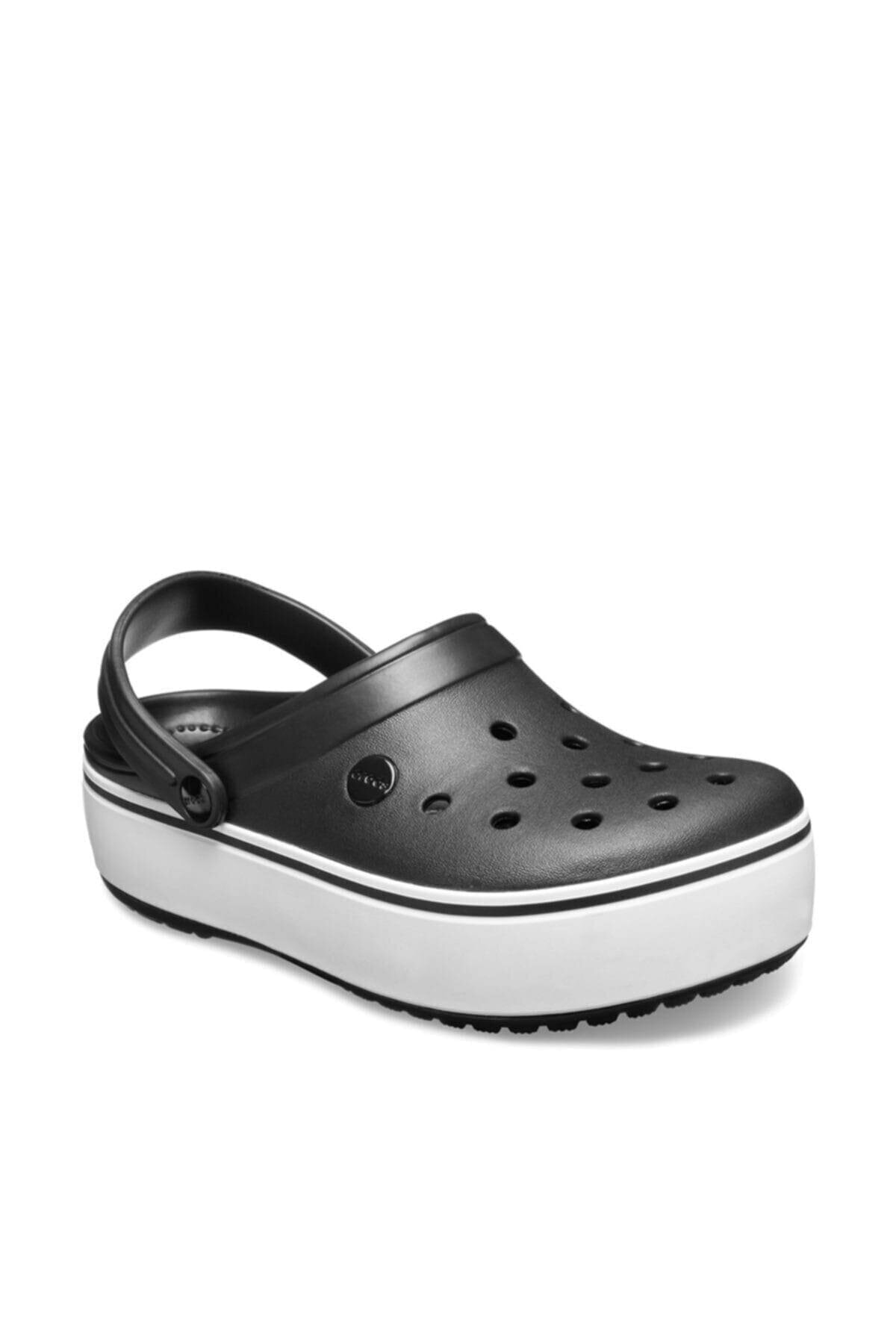 Crocs Kadın Siyah Platform Terlik 205434 1