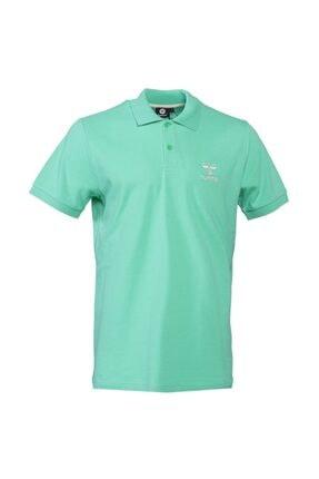 HUMMEL Unisex Yeşil Hmlleon Polo T-shirt