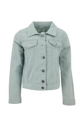 DeFacto Kız Çocuk Regular Fit Jean Ceket