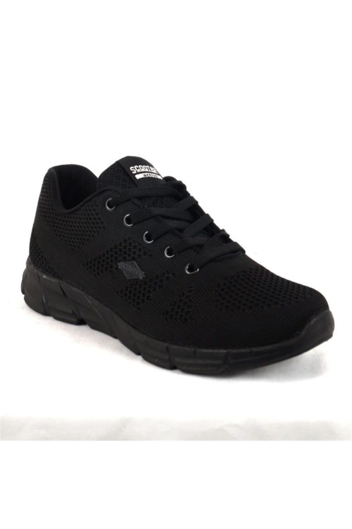 Scooter G5437ts Siyah Kadın Günlük Yürüyüş Ayakkabısı 1
