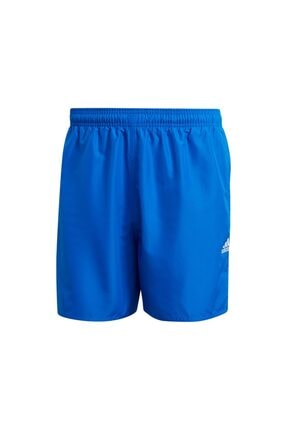 adidas Solid Clx Sh Sl Erkek Yüzücü Şortu Gq1082 Mavi