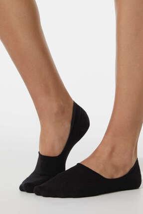 Oysho t Pamuklu Görünmez Çorap 2 Çif