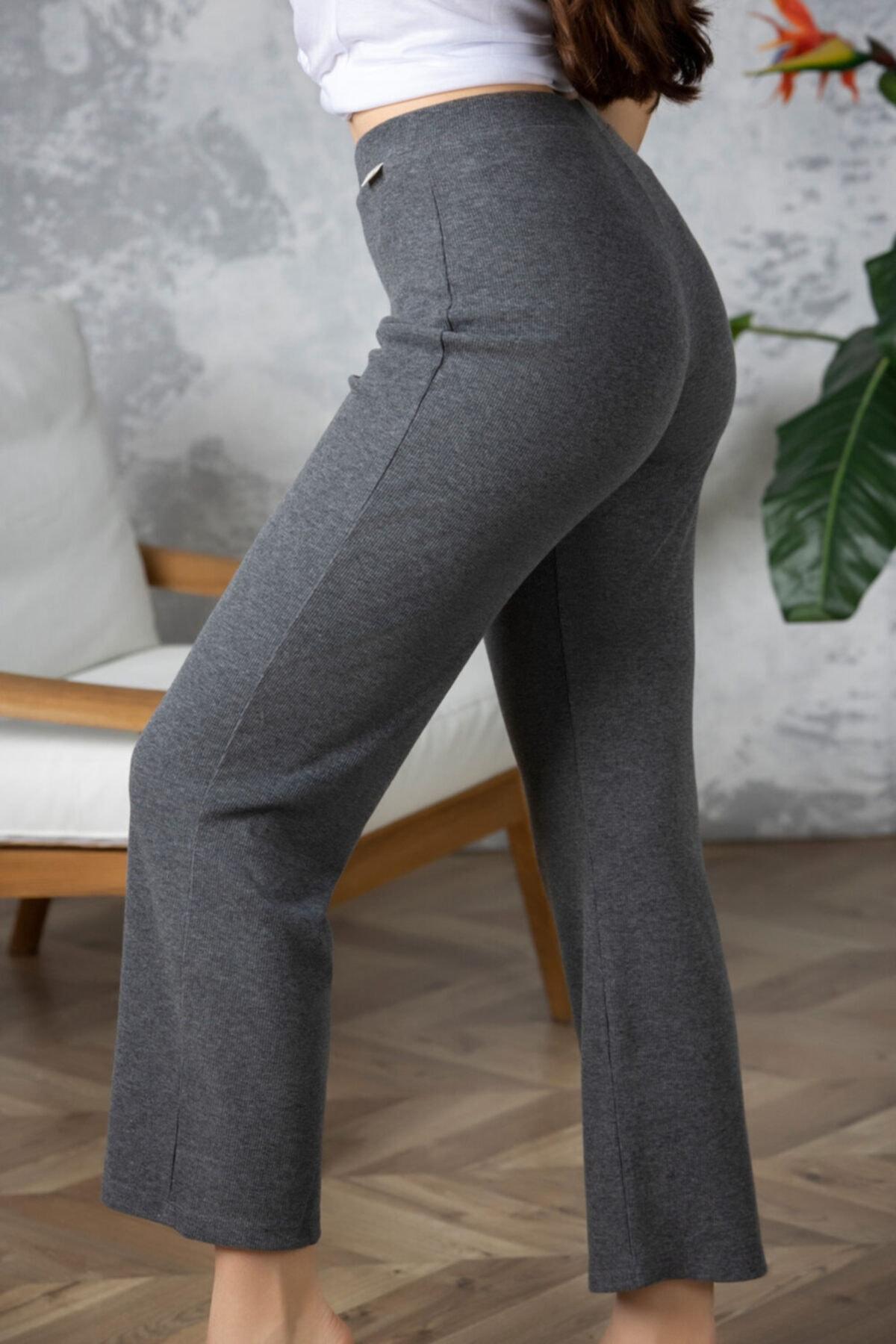 Katia&Bony Kadın  Gri Pantolon 1
