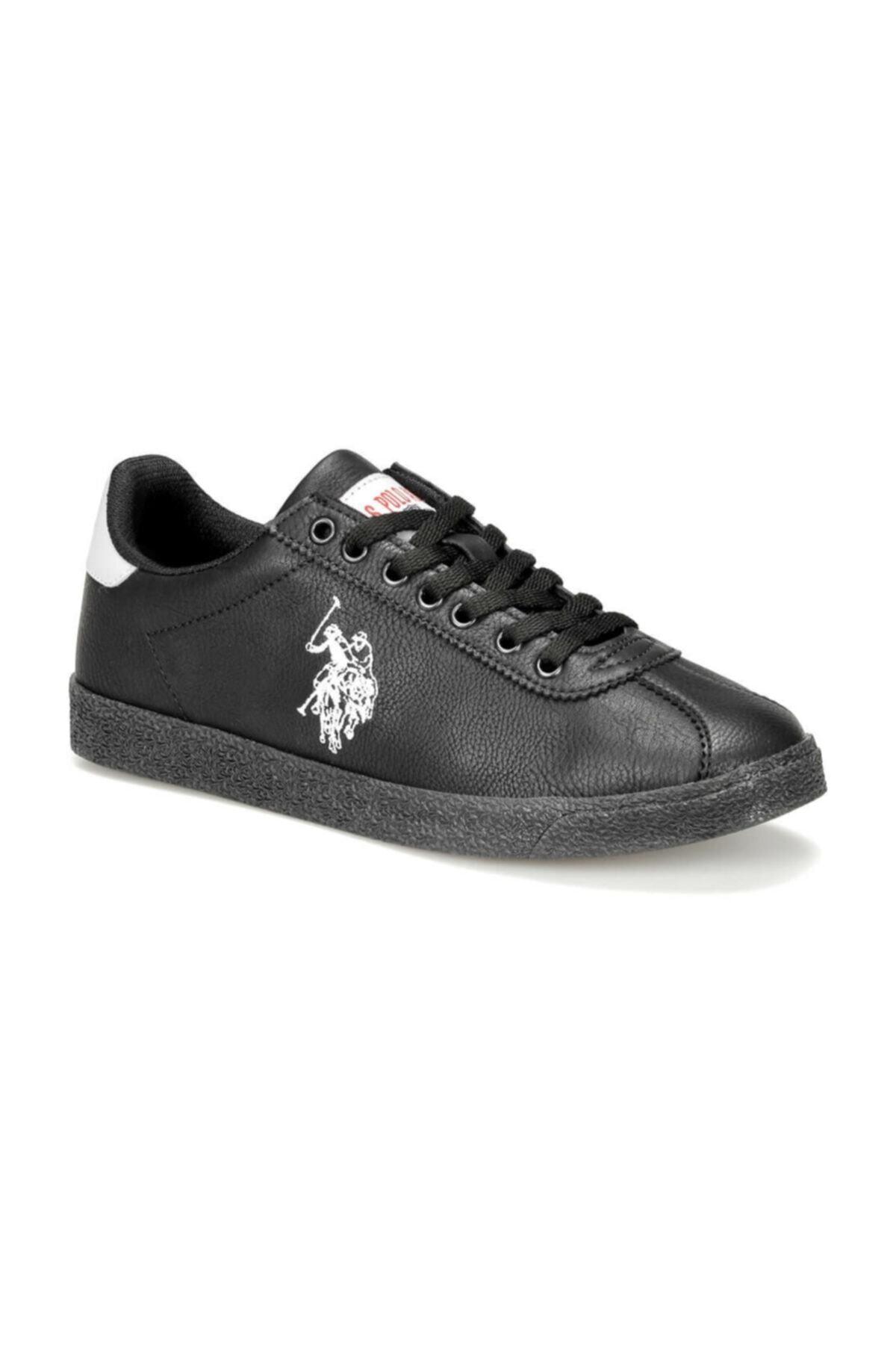 U.S. Polo Assn. TABOR WT 9PR Siyah Kadın Sneaker Ayakkabı 100422468 1