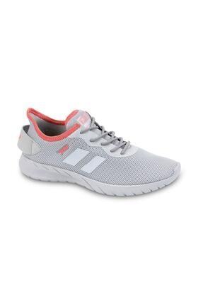 Jump Kadın Açık Gri Somon Pembe Spor Ayakkabı 24853