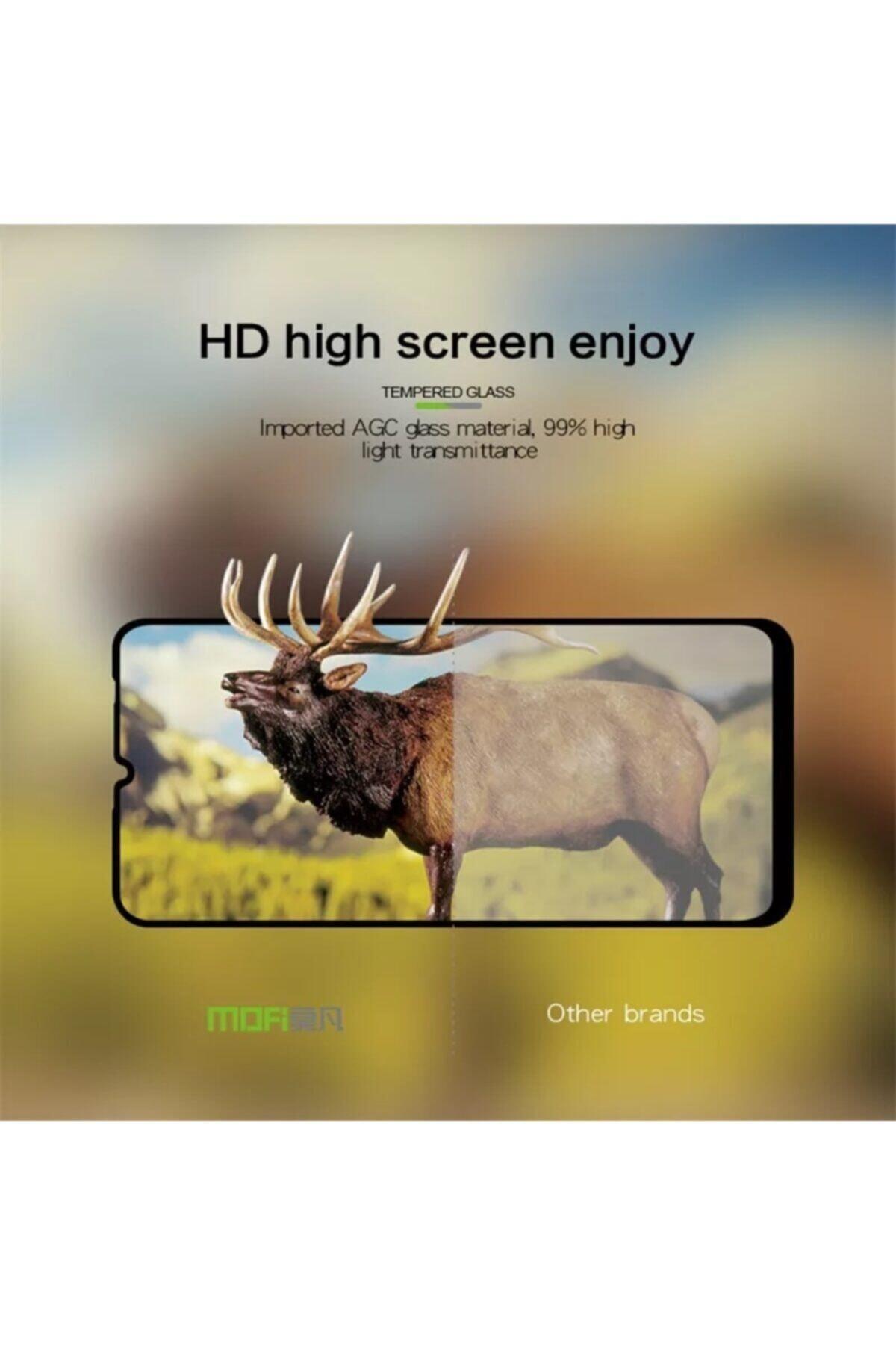 ucuzmi Xiaomi Redmi Note8 5d-6d Kavisli Tam Kaplar Temperli Kırılmaz Cam-ekran Koruyucu- 2