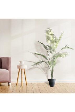 Nettenevime Yapay Ağaç Areka Ağacı Palmiye Ağacı Salon Bitkisi 130 Cm 12 Yaprak