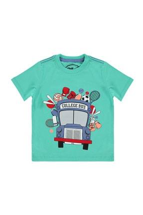 Civil Boys Erkek Çocuk Mint Yeşili T-Shirt