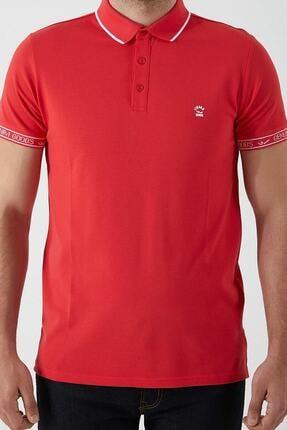 Ltb Erkek  Kırmızı Polo Yaka T-Shirt 012208408060890000