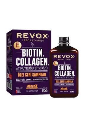 Revox At Kuyruğu Bitki Özü Biotin Collagen Özel Seri Şampuan 400 Ml