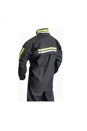 by yağmur Motosiklet Yağmurluk Pvc Dikişsiz Alt - Üst Takım (su Geçirmez Garantili)