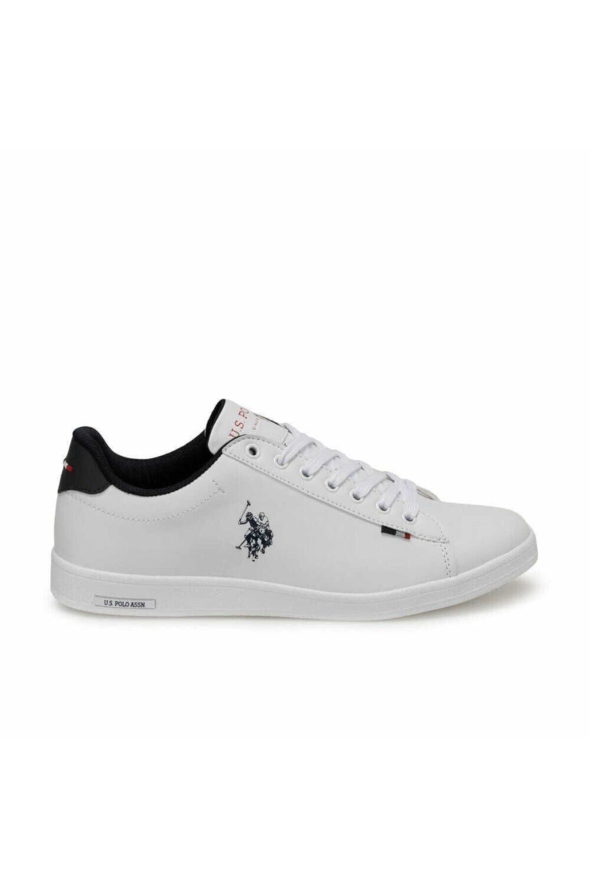 U.S. Polo Assn. Erkek Beyaz Franco Günlük Spor Ayakkabı 1