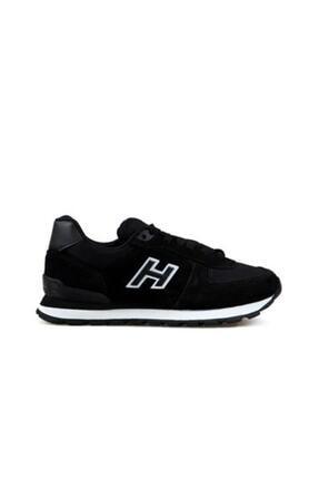 Hammer Jack 19250 Siyah Erkek Deri Günlük Spor Ayakkabı