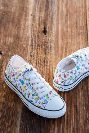 MUGGO Unisex Çocuk Sneaker Ayakkabı Mgcrs38