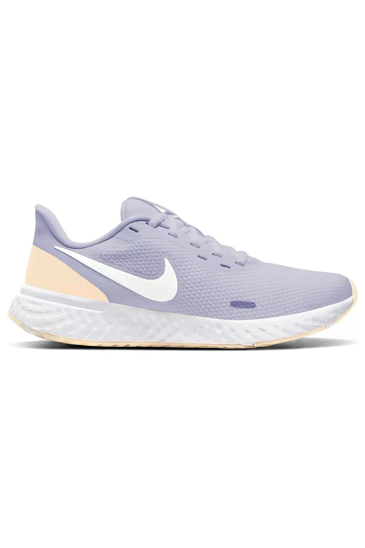 Nike Kadın Lila Revolution 5 Koşu Ayakkabısı Bq3207-010 1