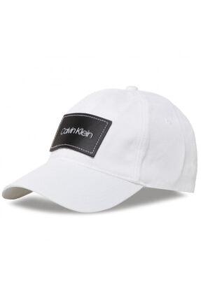 Calvin Klein Lthr Patch Bb Cap