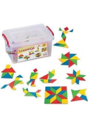 DEDE Tangram Küçük Box 28 Parça