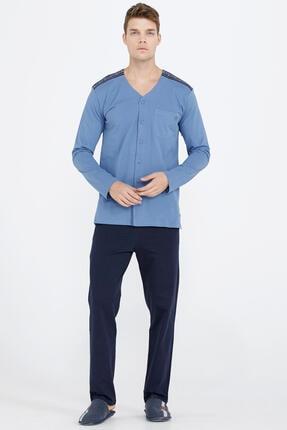 Sementa Erkek Omuz Detaylı Pijama Takımı