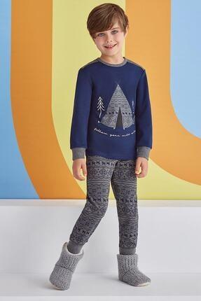 ROLY POLY Follow Your Wild Side Erkek Çocuk Pijama Takımı Lacivert