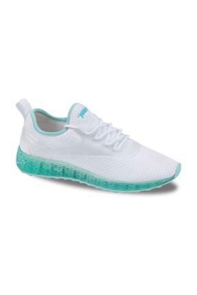 Jump Kadın Beyaz Günlük Ortapedik Spor Ayakkabı 24897