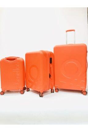 United Colors of Benetton Orange Valiz Seti 3'lü Bnta201