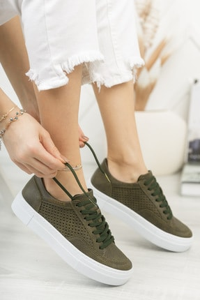 Chekich Ch015 Kadın Ayakkabı Haki
