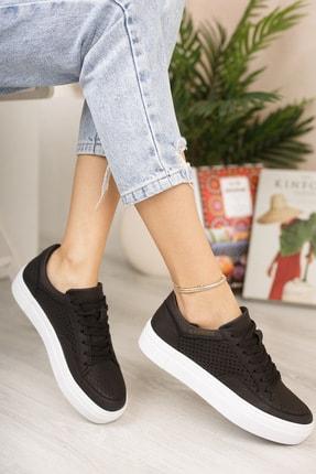 Chekich Ch015 Kadın Ayakkabı Siyah Beyaz
