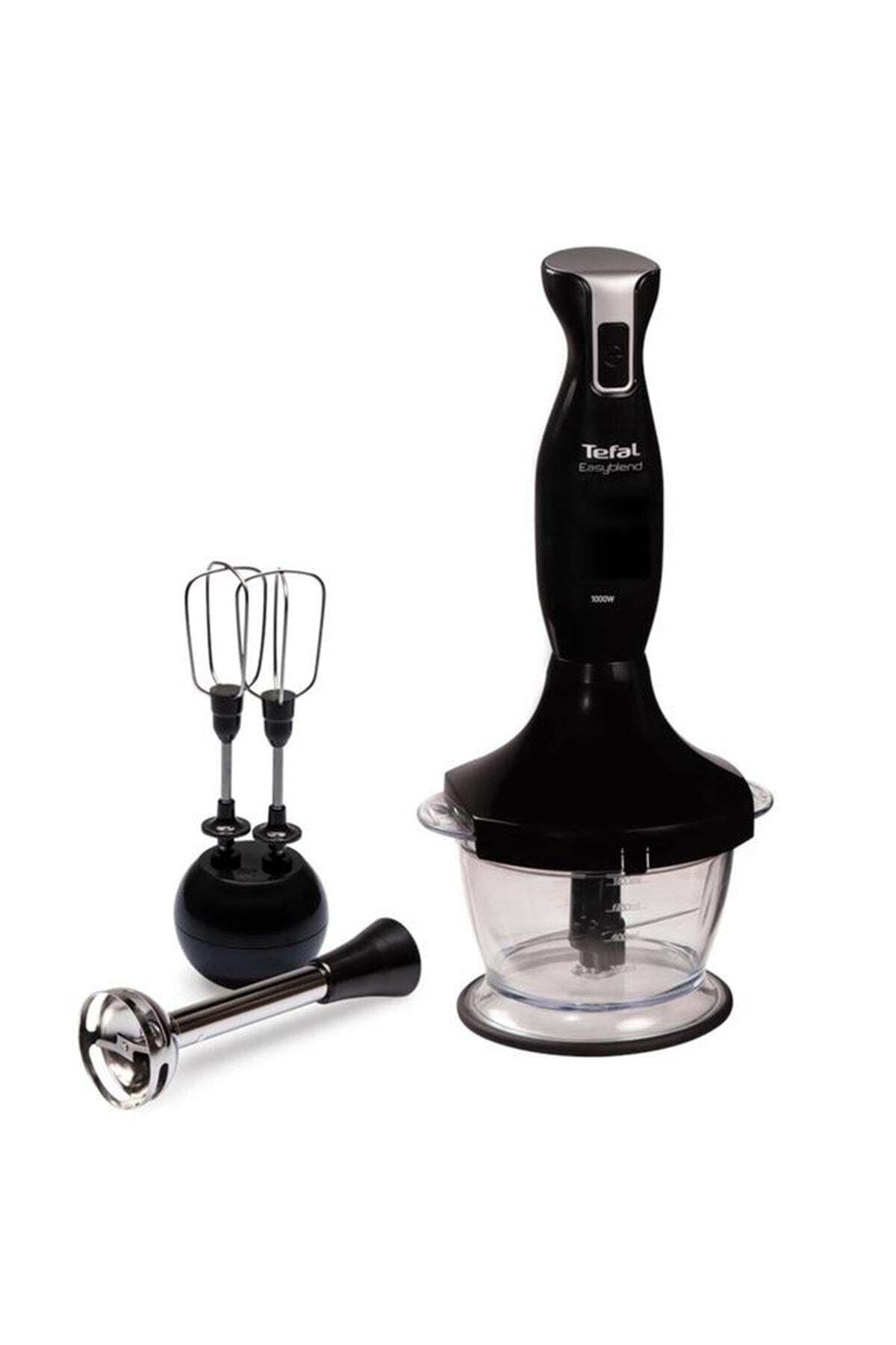TEFAL Siyah Easyblend 1000w Mikser & Blender Seti Hb1838tr 1
