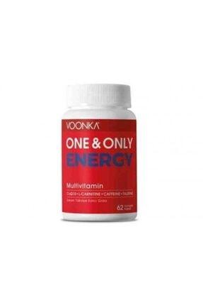 Voonka One & Only Energy Multivitamin 62 Kapsül