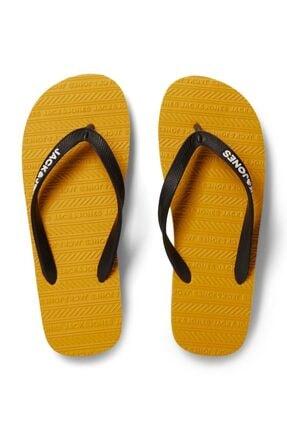 Jack & Jones Erkek Sarı Parmak Arası Terlik 12184290
