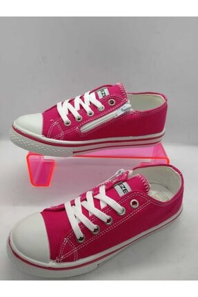 AKshoes Kız Çocuk Pembe Espadril Ayakkabı
