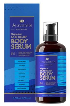 Jeuvenile Magnezyum Canlandırıcı & Sıkılaştırıcı Vücut Serumu - Skin Relief Magnesium Body Serum 200 ml