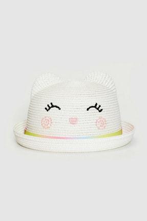 LC Waikiki Kız Çocuk Açık Bej Qvk Şapka