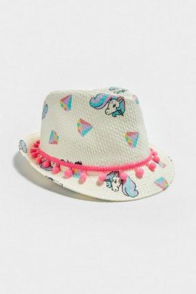 LC Waikiki Kız Çocuk Optik Beyaz Ffb Şapka