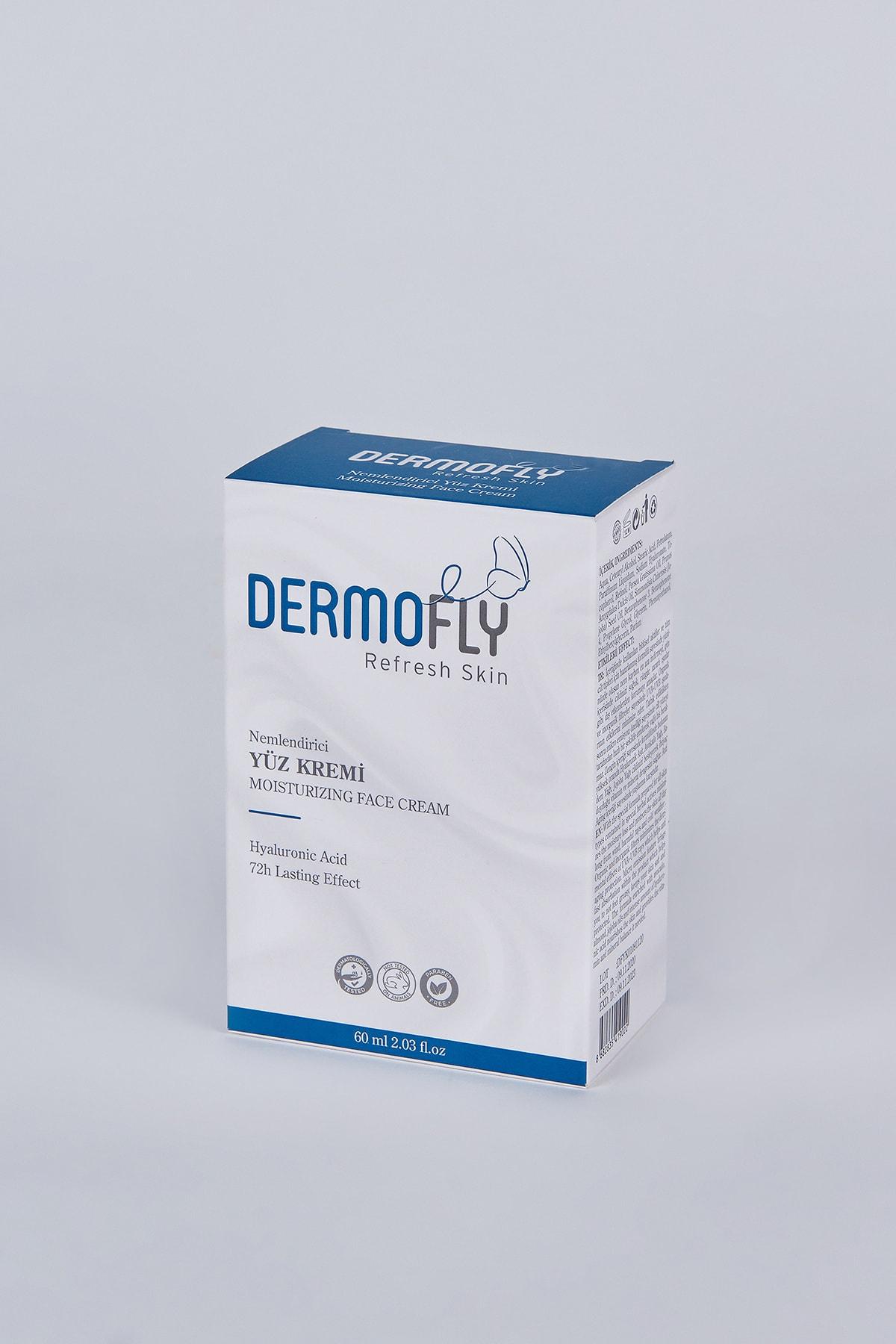 Dermofly Hyaluronik Asit Içerikli Nemlendirici Yüz Kremi 60 ml 2