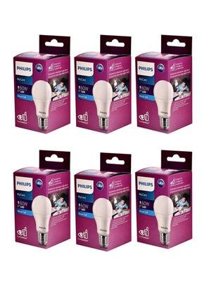 Philips Mycare Led Lamba 8w - 60w 6500k Beyaz Işık (6 Li Paket)