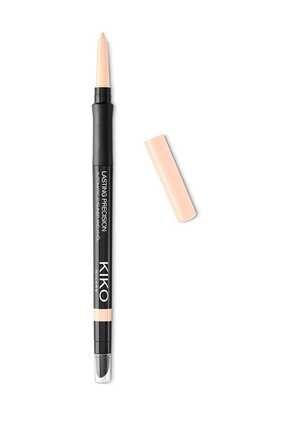 KIKO Eyeliner - Lasting Precision Automatic Eyeliner & Kajal 01 Butter 0.35 g 8025272616263