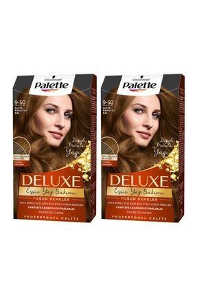 Palette Deluxe Yoğun Renkler 9-50 Altın Parıltılı Bal X 2 Adet