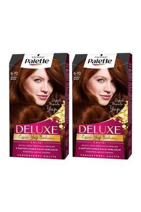 Palette Deluxe 6-70 Kahve Bakır  X 2 Adet