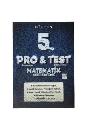 Bilfen Yayıncılık 5. Sınıf Pro Test Matematik Soru Bankası 2020