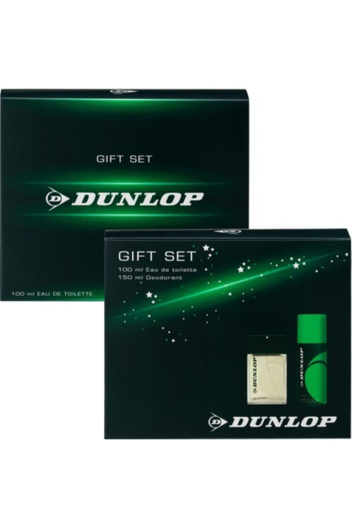 DUNLOP Set Klasik Yeşil 100ml Edt+150ml Deo Hediyeli Erkek Parfüm Seti  8690587202304 1